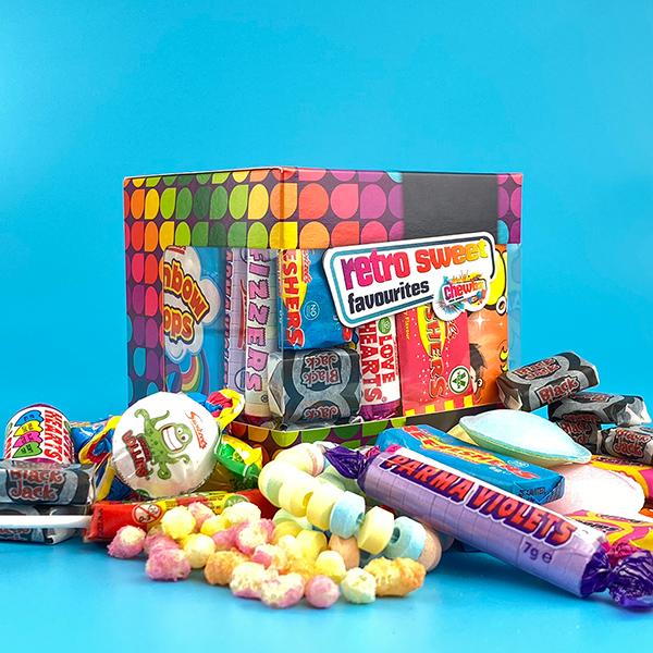 Retro Sweets Cube